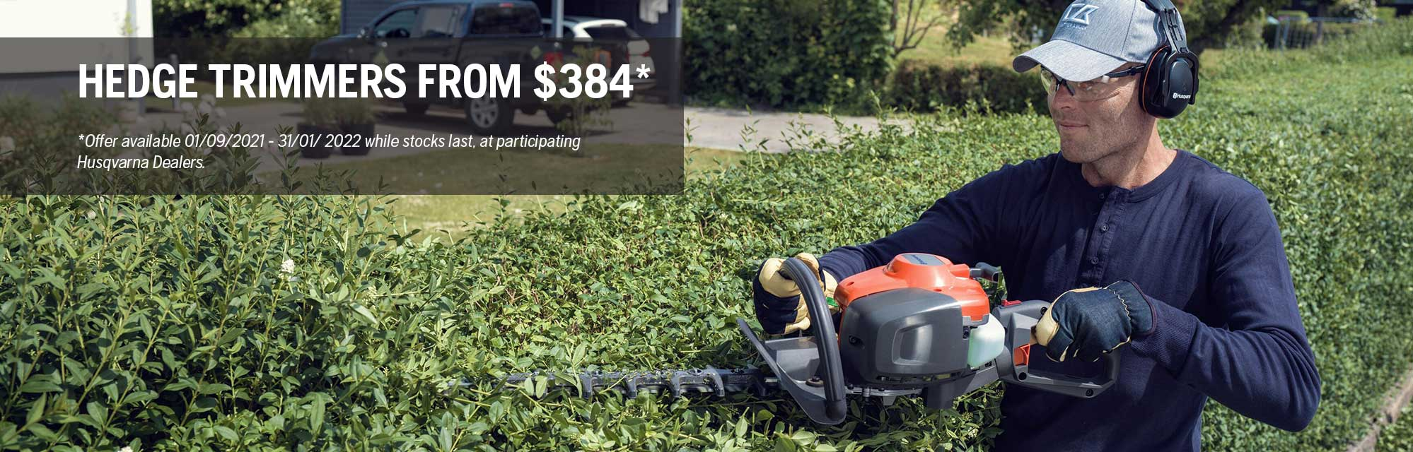 11 Hedge Trimmers - Spring